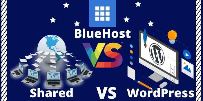 BlueHost Shared VS WordPress