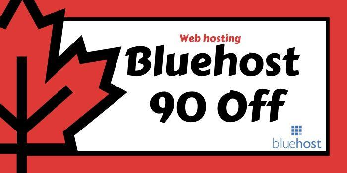 Bluehost 90 off