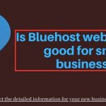 BlueHost Good For Small Business