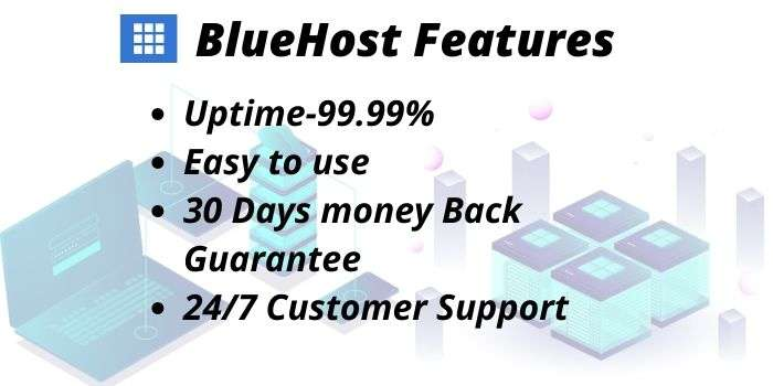 Bluehost Features