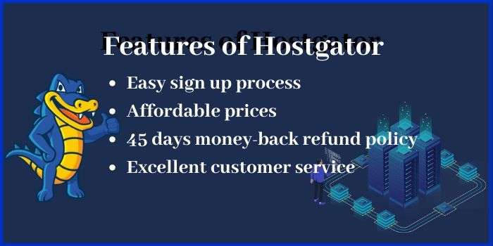 Features of Hostgator