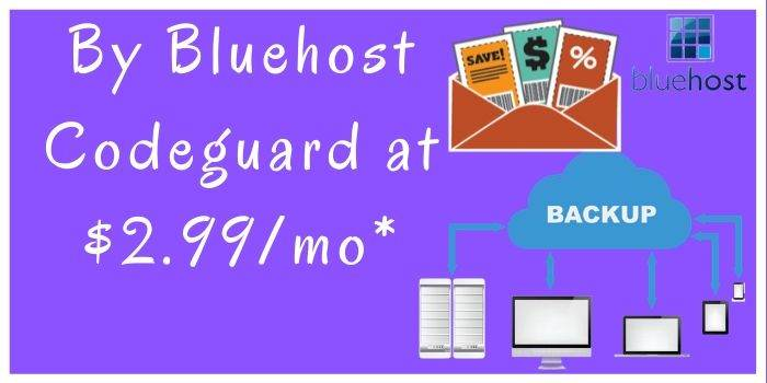 Bluehost Codeguard Price