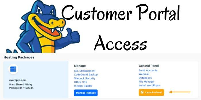 Hostgator Customer Portao Access