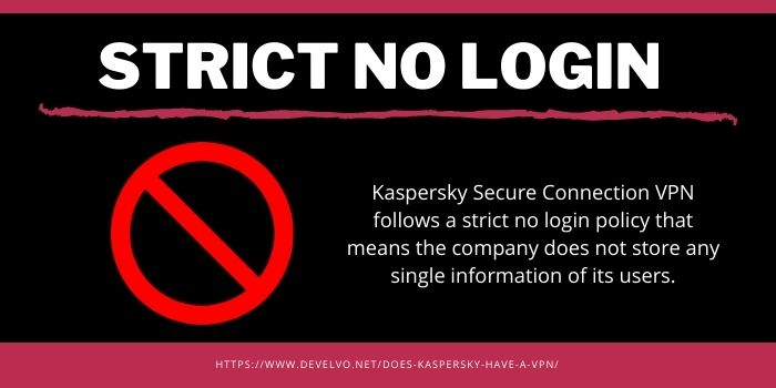 Kaspersky Secure Connection VPN- Strict No Login